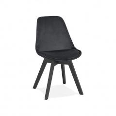 Krzesło Kokoon Design Phil czarne