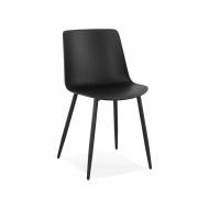 Krzesło Kokoon Design Simpla czarne