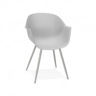 Krzesło Kokoon Design Stileto szare