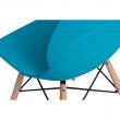 Krzesło Layer DSW turkusowe DK-71050