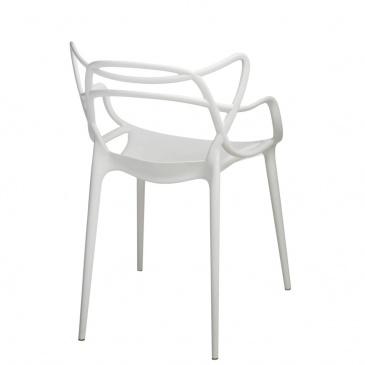 Krzesło D2.Design Lexi białe