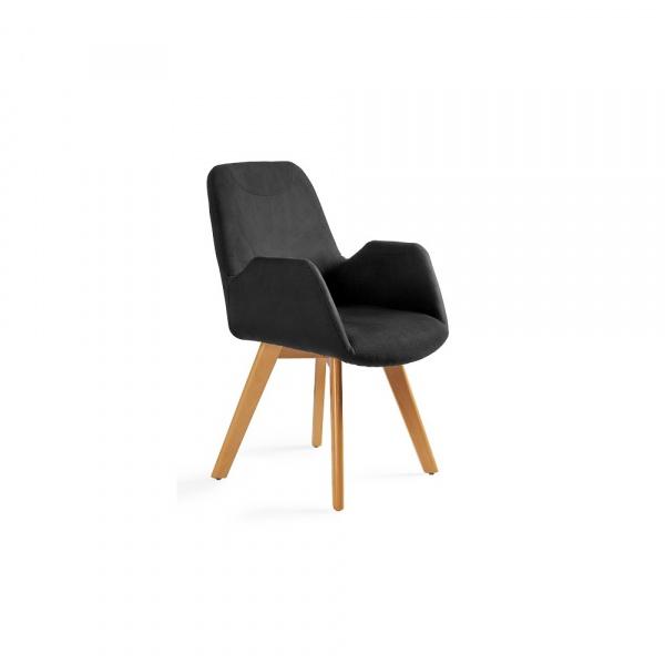 Krzesło Line Unique czarne 2-156-MZ4