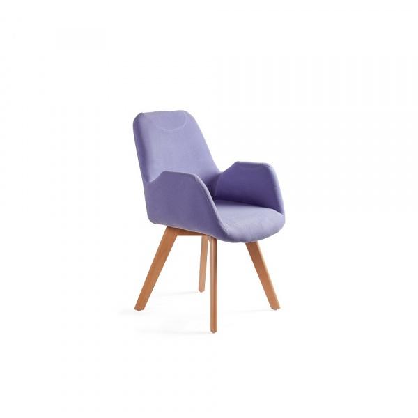 Krzesło Line Unique niebieski 2-156-MZ7