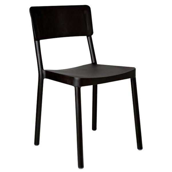 Krzesło Lisboa czarne DK-19148