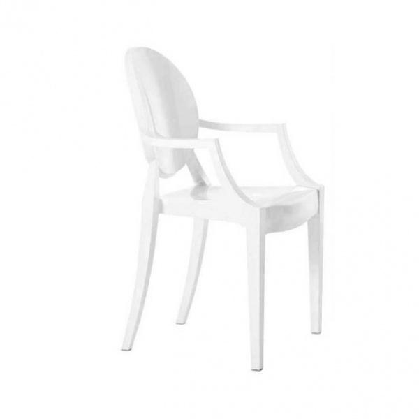 Krzesło Louis Ghost King Home biały SO-KPC-449.BIALY