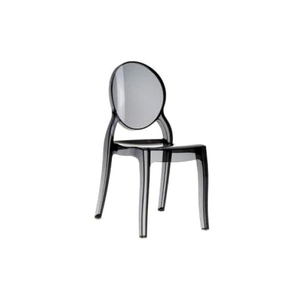 Krzesło Mia black transp DK-19065
