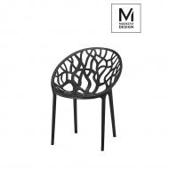 Krzesło Modesto Koral czarne