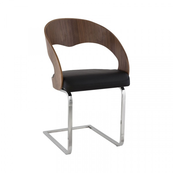 Krzesło Mona Kokoon Design orzech włoski CH00900WABL