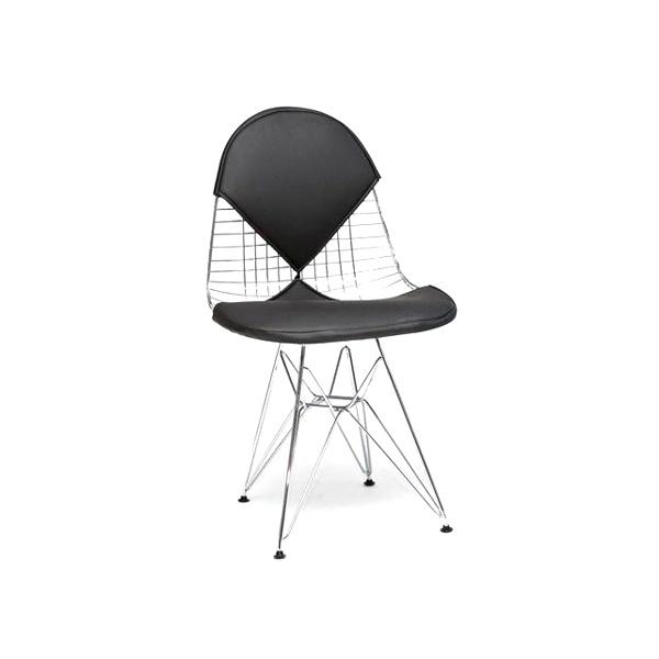 Krzesło Net double czarna poduszka DK-3531