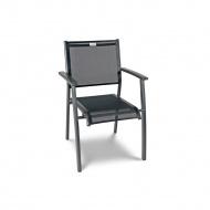 Krzesło ogrodowe 50x88cm Acatop Acamp antracyt/nero