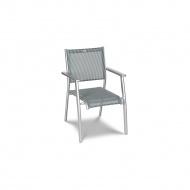 Krzesło ogrodowe 50x88cm Acatop Acamp platyna/grigio