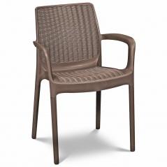 Krzesło ogrodowe 83x52cm Keter Bali Mono cappuccino