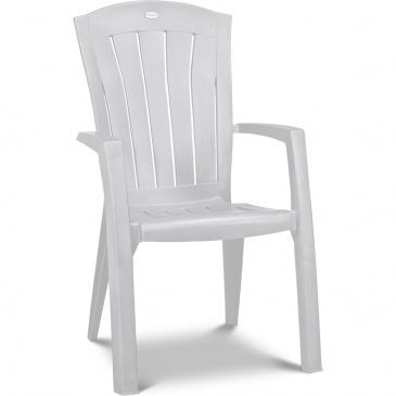 Krzesło Ogrodowe Santorini Allibert 99x61cm Białe