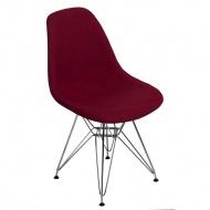 Krzesło P016 DSR Duo D2 bordowo-szare
