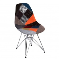 Krzesło P016 DSR Patchwork D2 wielokolorowe