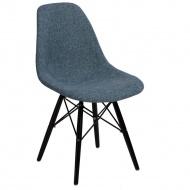 Krzesło P016W Duo D2 niebiesko-szare/black