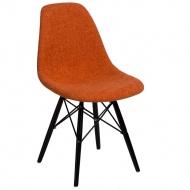 Krzesło P016W Duo D2 pomarańczowo-szare/black