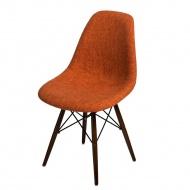 Krzesło P016W Duo D2 pomarańczowo-szare/dark