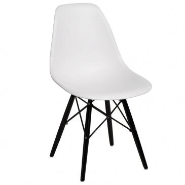 Krzesło P016W PP białe/black