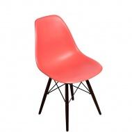 Krzesło P016W PP D2 Ciemna Brzoskwinia