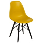 Krzesło P016W PP D2 Ciemna Oliwa