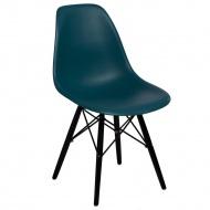 Krzesło P016W PP D2 Ciemnozielone