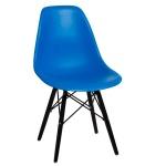 Krzesło P016W PP D2.Design niebieskie