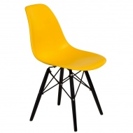 Krzesło P016W PP D2 Żółte