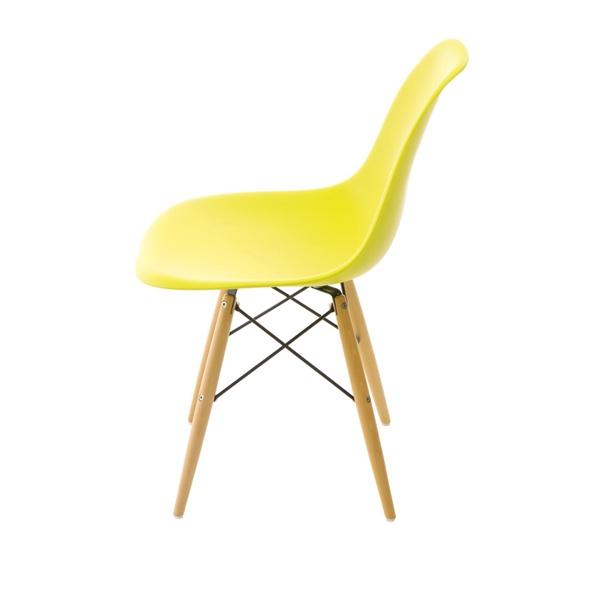 Krzesło P016W PP dark olive, drewniane  nogi DK-24249