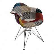 Krzesło P018 DAR D2 patchwork kolorowe