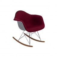 Krzesło P018 RAR Duo D2 bordowo-szare