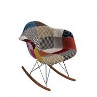 Krzesło P018 RAR Patchwork D2 wielokolorowe