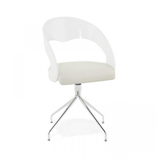 Krzesło Pearl Kokoon Design biały CH01080WHWH