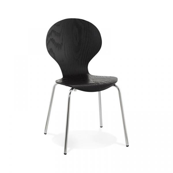 Krzesło Perry Kokoon Design czarny CH01090BL