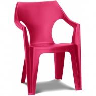 Krzesło plastikowe Dante Low back : Kolor - deep pink