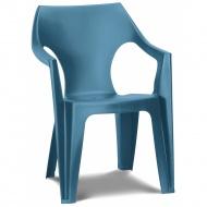 Krzesło plastikowe Dante Low back : Kolor - light blue