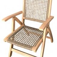 Krzesło rozkładane Raja