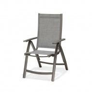 Krzesło składane z podłokietnikami D2 Solana