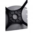 Krzesło Techno szare, podstawa czarna 5902385703512