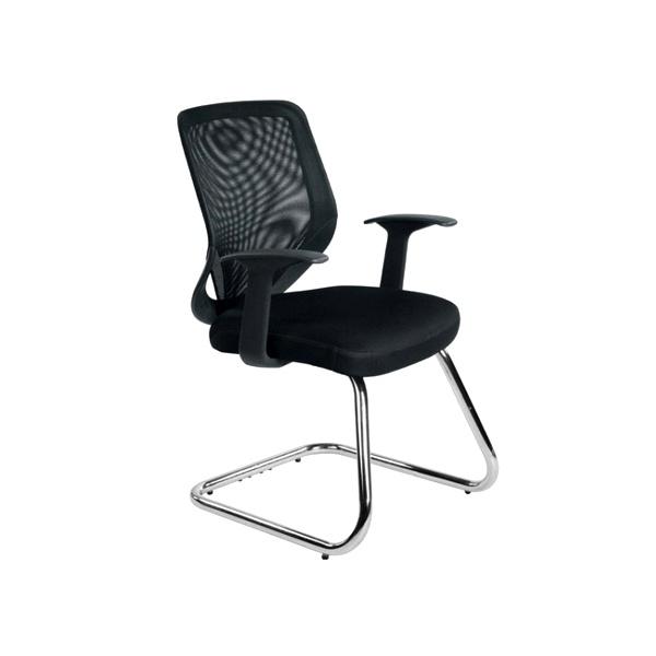 Krzesło Unique Mobi Skid czarne W-953-4