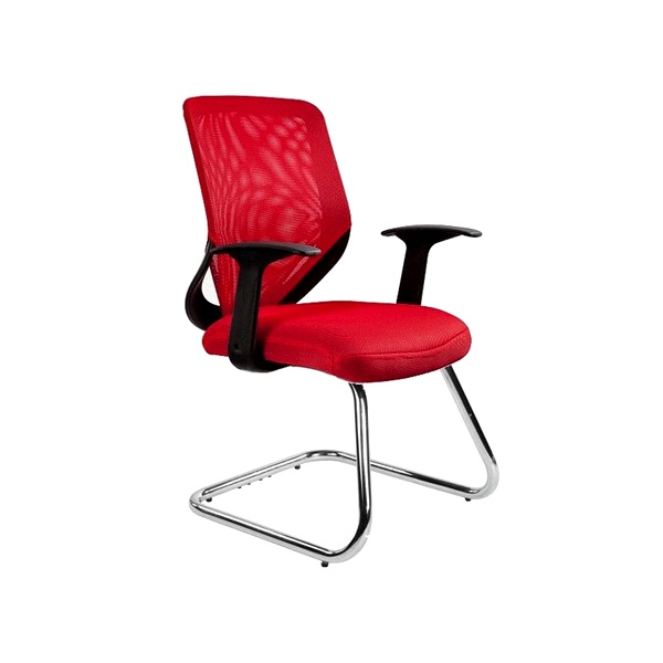 Krzesło Unique Mobi Skid czerwone W-953-2