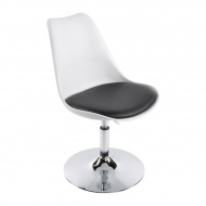 Krzesło Victoria III Kokoon Design biało-czarny