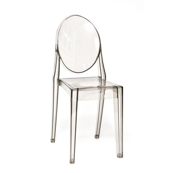 Krzesło Viki szary transp. DK-5442