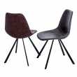 Krzesło Vincent M jasno brązowe DK-71169