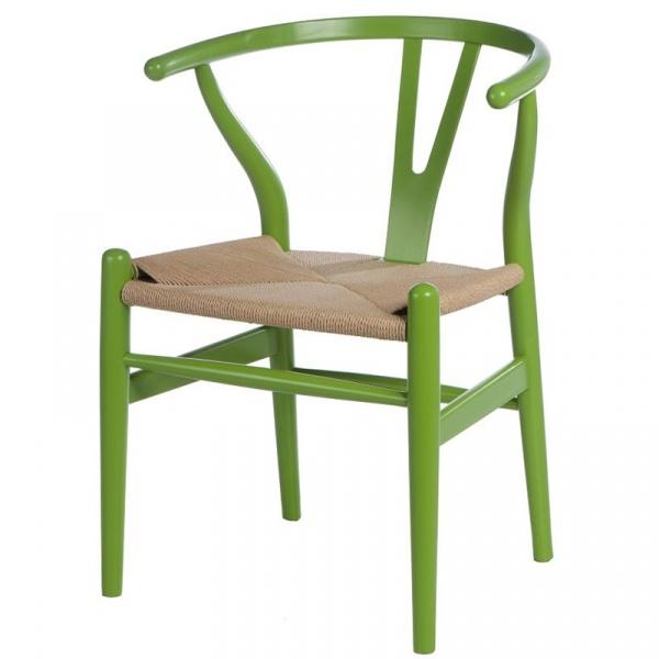 Krzesło Wicker Color zielone 5902385717342