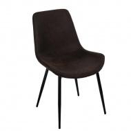 Krzesło Yoko D2 brązowe ciemne
