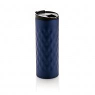 Kubek 0,35l XD design Geometric niebieski