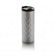 Kubek 0,35l XD design Geometric srebrny
