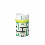 Kubek 250 ml PO: Green Geometric