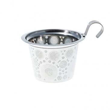 Kubek 350 ml z zaparzaczką do herbaty Eigenart Kalejdoskop morski EA-3630711